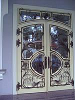 Кованые решетки для дверей на заказ в Херсоне