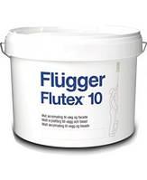 Латексная краска для стен Flugger Flutex 10, банка 1 л