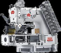12-игольная, 24-ниток, двойного цепочного стежка с гладким (или зубчатым) пулером  BRUCE VC009VCDI-12064P