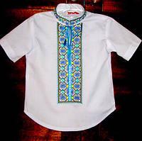 Заготовка під вишивку дитячої сорочки довгий рукав орнамент 6 27bfc5860f0b7