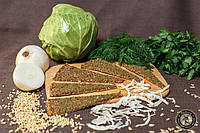 Сыроедческие хлебцы Луковые