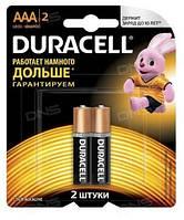 Батарейки LR3 (AAA) alkaline. DURACELL