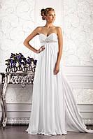 Прокат 3780 грн.  Свадебное платье в греческом стиле, со съемным шлейфом «Встреча с музой», фото 1