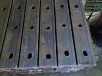 Накладка на железнодорожный рельс Р-65 (четыре отверстие)