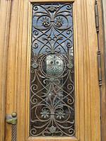 Решетки дверные металлические с элементами ковки в Херсоне на заказ