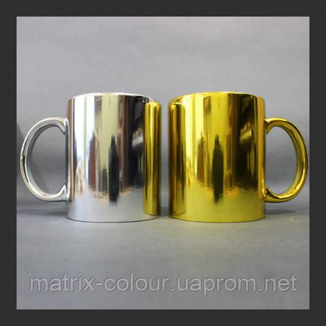 Нанесение изображения на чашку металлизированную