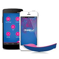 Клиторальный вибратор OhMiBod - blueMotion App Controlled Nex 1, 9х4,5 см.