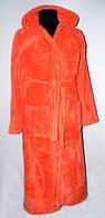 Теплый махровый халат в разных цветах