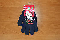 Перчатки для девочек Hello kitty ТМ Sun City, 16см