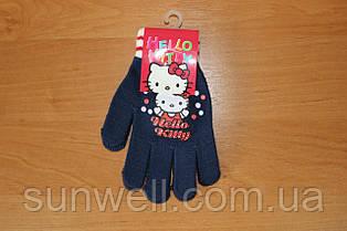 Рукавички для дівчаток Hello kitty ТМ Sun City, 16см
