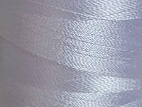 Нитка шелк для машинной вышивки 120D/2(3000ярд)Белый