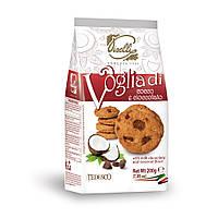 Печенье с кокосом и молочным шоколадом Piselli 200г