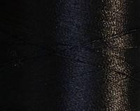 Нитка шелк для машинной вышивки 120D/2(3000ярд)Черный