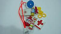 """Детский набор доктора """"Little Doсtor 2"""",в сетке 10предм.Детский игровой набор врача.Игровой набор для игры в б"""
