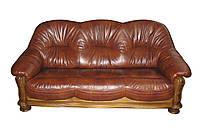 """Раскладной 3х местный кожаный диван """"Hammer"""" (Хаммер). (210 см)"""
