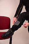 Костюм  горка черный , ХБ с пропиткой , наколенники +кордура, фото 7