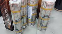 Двужильный нагревательный мат ( теплые полы под кафель) 11 м.кв .Регулятор в подарок.