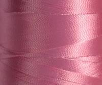 Нитка шелк для машинной вышивки 120D/2(3000ярд)Розовый(L /G)