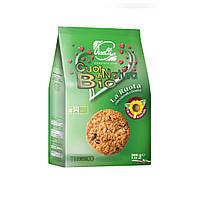 БИО Печенье песочное со злаками и фруктами Piselli 200г