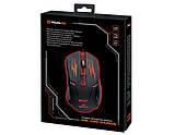 Мышка REAL-EL RM-520 Gaming игровая с подсветкой, фото 4