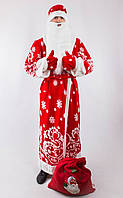 Взрослый новогодний костюм деда мороза
