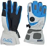 Перчатки лыжные женские Outhorn red001 синие - 25782