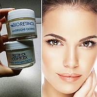Восстанавливающий ночной крем для лица с гиалуроновой кислотой Bioretinol Acido Jaluronico notte