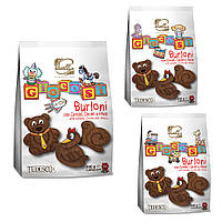Печенье со злаками, какао и медом Piselli 200г