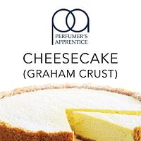 Ароматизатор TPA Cheesecake (graham crust) 5 ml (чизкейк с корочкой)