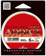 Леска Yamatoyo Addict Nylon 100м #2/0.235мм 8lb