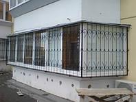 Изготовление кованых решеток для балкона в Херсоне на заказ