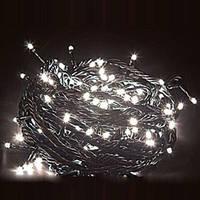 Гирлянда светодиодная 300 led Белая (черный провод)