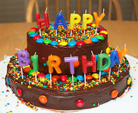 Свечи для праздничного торта