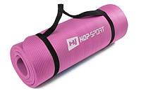 Мат для фитнеса HS-4264 1,5см pink