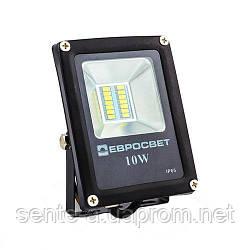 Світлодіодний прожектор ES-10-01 6400K 10W 550Lm SMD Евросвет