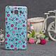Силиконовый бампер для Samsung J710 Galaxy J7 2016 с принтом Цветы 79, фото 6