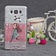 Силиконовый бампер для Samsung J710 Galaxy J7 2016 с принтом Цветы 79, фото 3