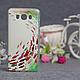 Силиконовый бампер для Samsung J710 Galaxy J7 2016 с принтом Цветы 79, фото 2