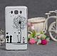 Силиконовый бампер для Samsung J710 Galaxy J7 2016 с принтом Цветы 79, фото 10