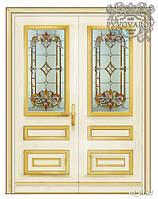 Luxury витражи в распашные межкомнатные двери