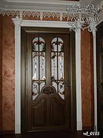 Витражи в двери