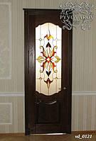 Витражи тиффани в межкомнатные двери