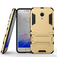 Чехол Meizu M3 / M3S / M3 mini Hybrid Armored Case золотой