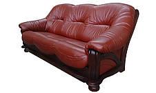 """Комплект кожаной мебели """"Diaz"""" (Диаз). (3р+1), фото 3"""