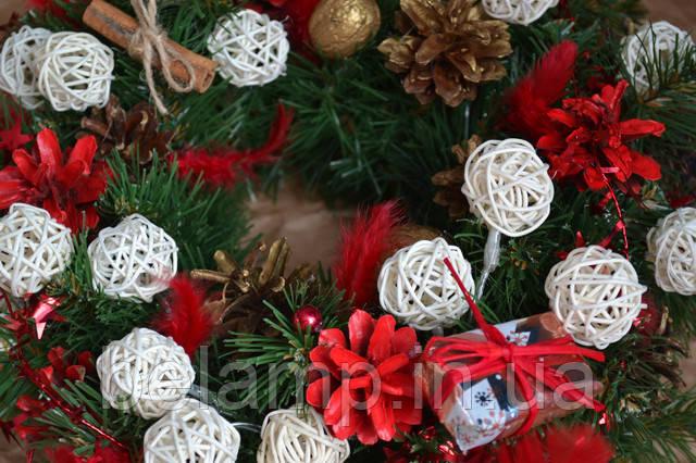 рождественский венок украина купить