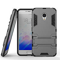 Чехол Meizu M3 / M3S / M3 mini Hybrid Armored Case темно-серый