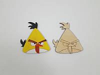 Раскраска Angry Birds Чак, фото 1