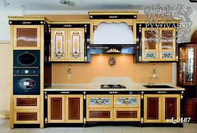 Витражи Тиффани в кухонные фасады