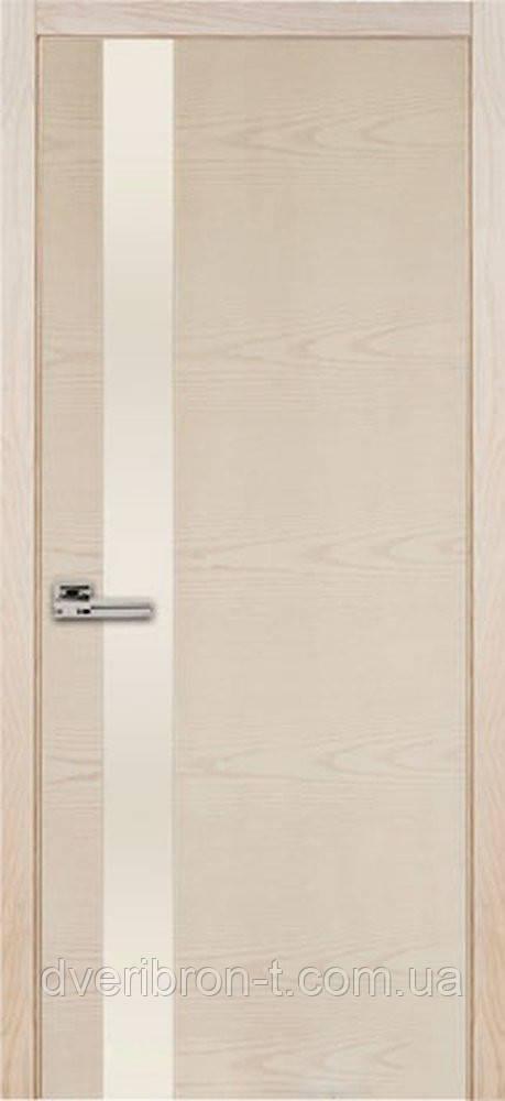 Двери Брама 39.1 шпон ясень выбеленый