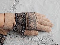 Женские теплые ангоровые перчатки, фото 1